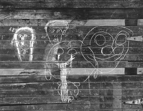 image of 'Freaky Faces Graffiti (Masks Graffiti), San Francisco'