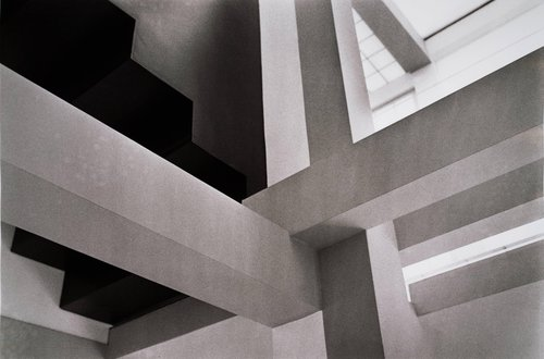 Peter Eisenman, Architect, House VI, Frank Residence, Cornwall, Connecticut, 1976