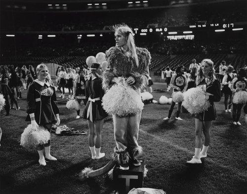 High school cheerleader, from the portfolio Leisure