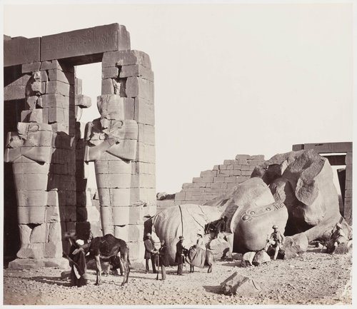The Rameseum of El-Kurneh, Thebes—First View
