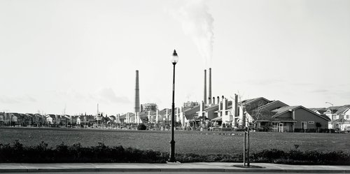 The New American Suburbs: New Development and Power Plant—Pittsburg, CA