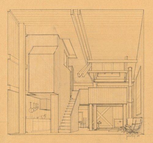 Perspective for Condominium One unit interior