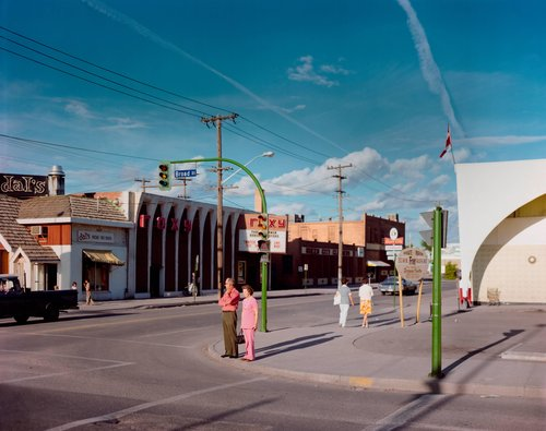 Broad Street, Regina, Saskatchewan, August 17, 1974