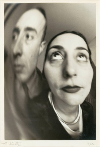 Self-Portrait with Woman [Distortion]