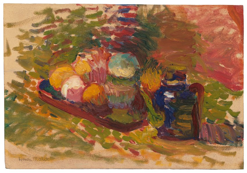 image of 'Nature morte—fruits, pot Sèvres (Still Life—Fruit, Sèvres Pot)'