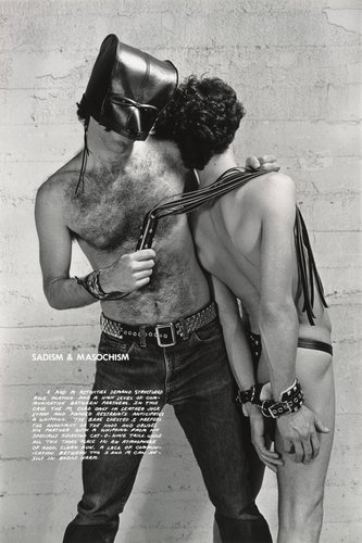 Sadism & Masochism, from the series Gay Semiotics