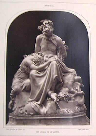 """image of 'Untitled [Reproduction of """"Le Crimes de la Guerre"""" by Emile Chatrousse], from the publication Galerie Contemporaine'"""
