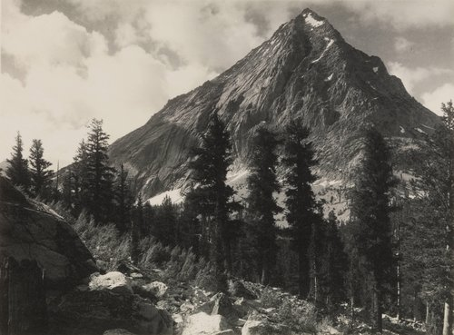 East Vidette, from the portfolio Parmelian Prints of the High Sierras
