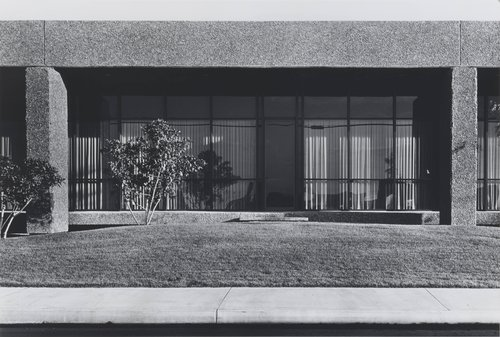 North Wall, General Offices, R B Furniture, 2323 Southeast Main Street, Santa Ana, from the portfolio The New Industrial Parks near Irvine, California