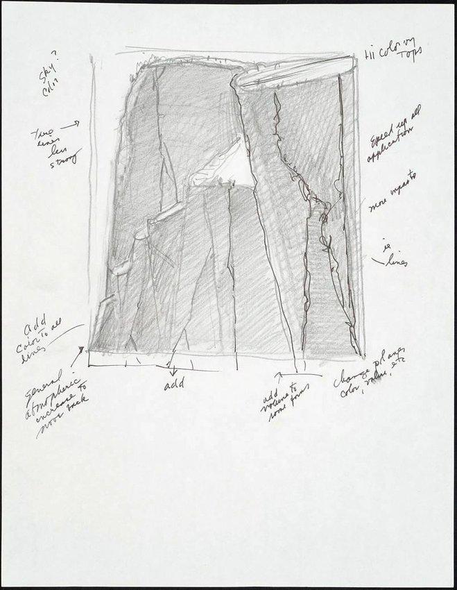 image of Canyon Mountains study
