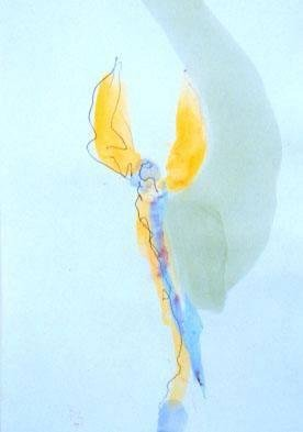 image of 'Untitled (Study for Right-Sided Angel III)'