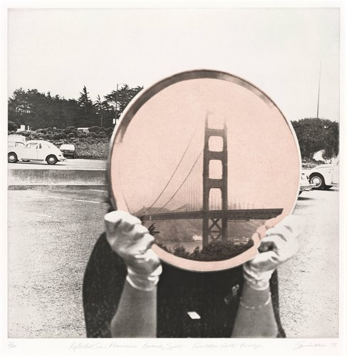 Golden Gate Bridge, from the series Reflected San Francisco Beauty Spots