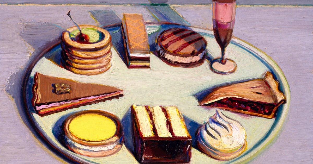 Cake Art Mo : Last Tweets about Wayne thiebaud