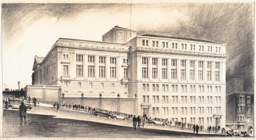 Exterior Rendering of the Metropolitan Life Insurance Company Building