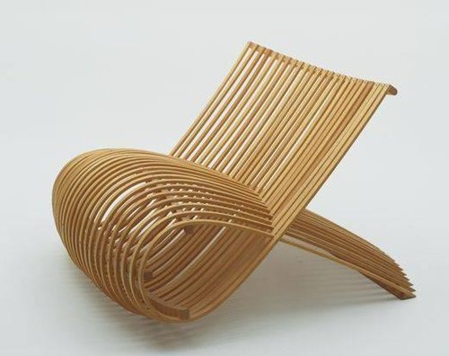Wood chair