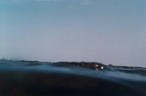 Kisarazu, from the series half awake and half asleep in the water