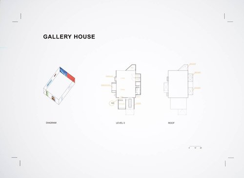 Gallery House, from the Domestic Research series
