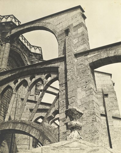 Chartres -- Flying Buttresses, East End