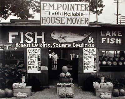 image of 'Fish Market Near Birmingham, Alabama'