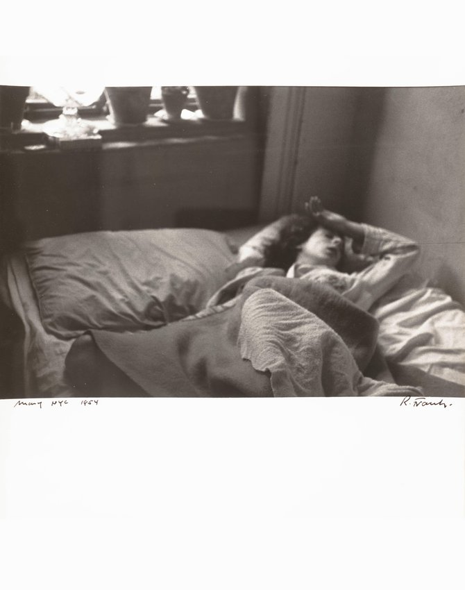 image of 'Mary, NYC [In bed, arm raised]'