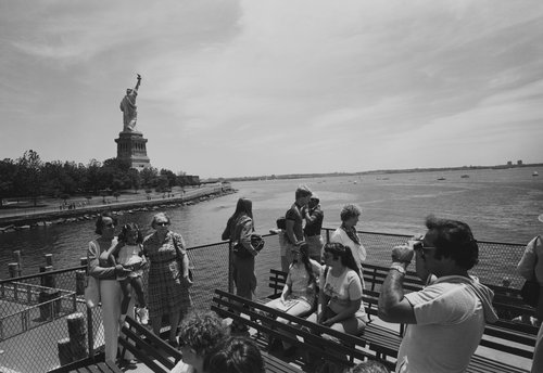 Untitled (Statue of Liberty), from the portfolio Leisure