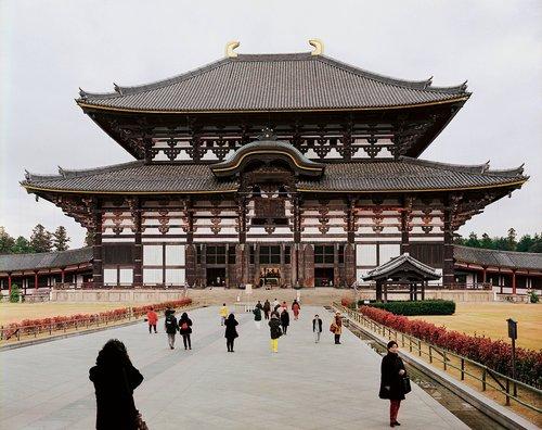 Todai-ji, Daibutsu-den, Nara, 1996