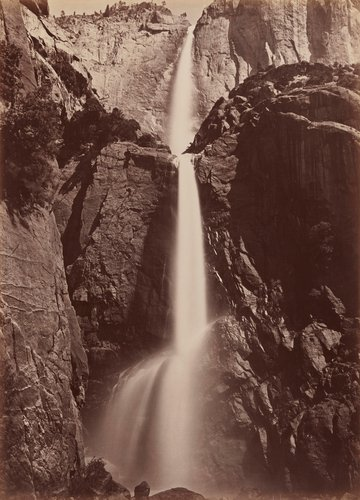 Yosemite Falls, View from the Bottom, Yosemite