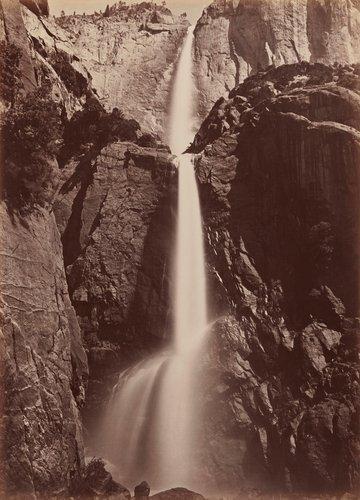 Yosemite Falls, View from the Bottom, Yosemite
