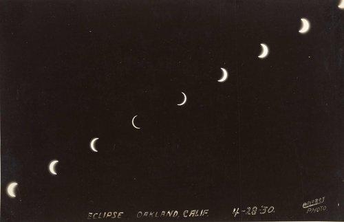 Eclipse, Oakland, California, 4-28-30