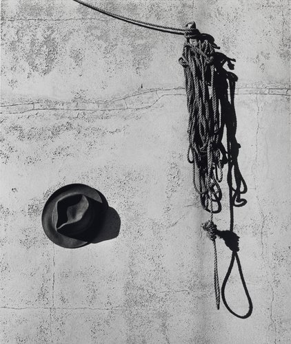 Hat and Rope, from the series Images of Death, from the portfolio Out of State