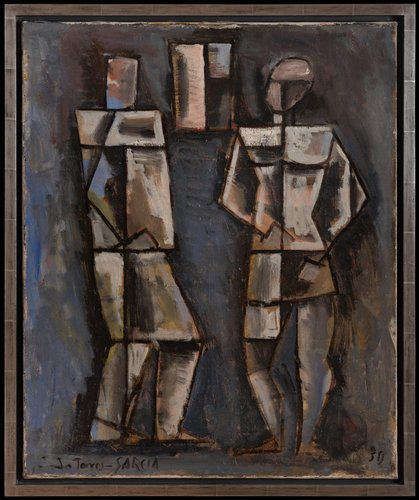 Dos figuras (Two Figures)