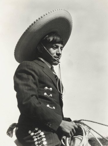 Untitled [Charro on Horseback]
