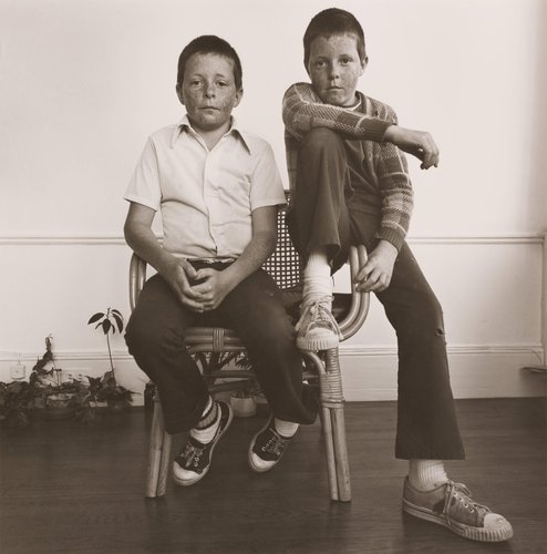 Richard & Randall Sipes, from the portfolio, Siblings