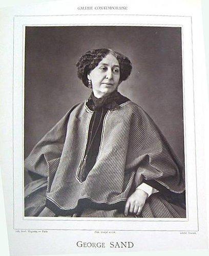 George Sand, from Galérie Contemporaine, Littéraire, Artistique, Première Année, Deuxième Semestre, 1re Série