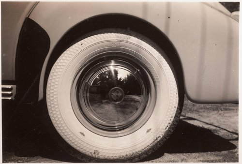 Untitled [Car wheel]