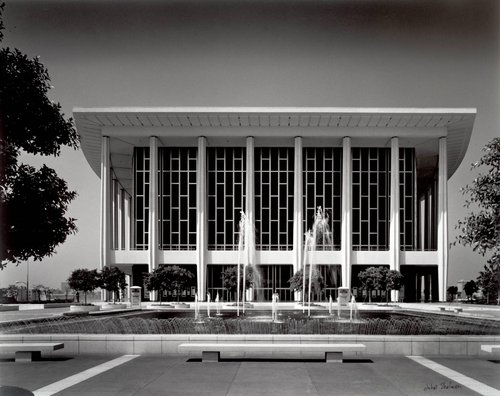 Los Angeles Music Center, Welton Becket Associates, 1965