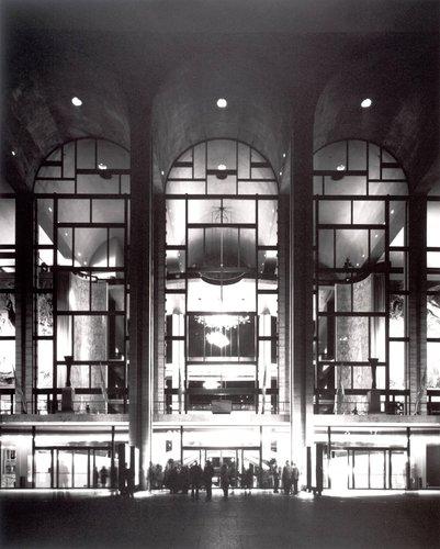 Wallace Harrison, Metropolitan Opera House, Lincoln Center, New York, 1966