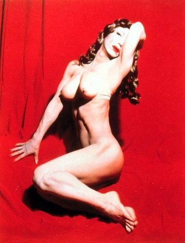 Self-Portrait (Actress) Red Marilyn