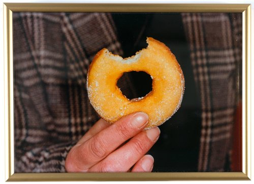Untitled [donut with bite mark], from the series British Food