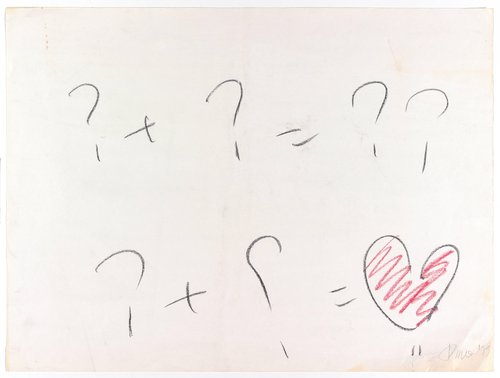 Untitled (Equation Question-Heart)