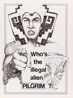 Image for artwork Who's the Illegal Alien, Pilgrim? poster