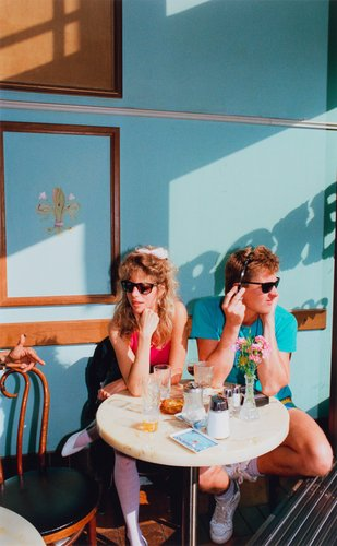 San Francisco, California, Cafe, Columbus Avenue, from the portfolio Analog Days