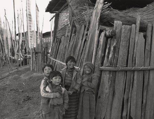 Sonam, Jamby, Kencho and Pema; Schoolgirls Ura, Bhutan