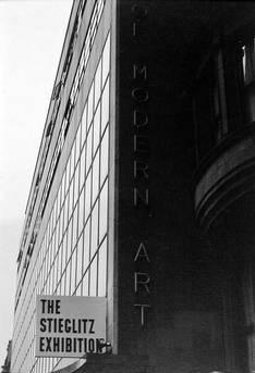 Stieglitz Exhibit, MOMA Exterior