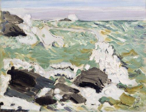 The Sea--Cape Split, Maine