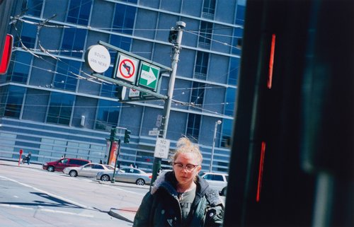 San Francisco, California, Market Street & Van Ness Avenue, from the portfolio Analog Days