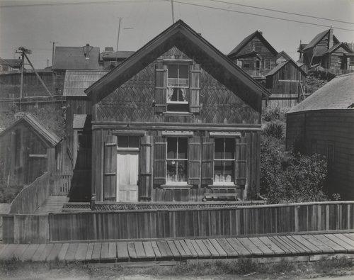 House at Mendocino City, California