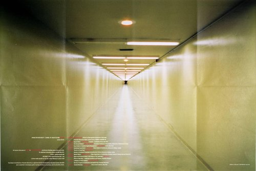 Princeton University School of Architecture Spring 1998 Lecture Series Poster
