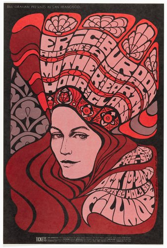 Eric Burdon and the Animals, Mother Earth, Hour Glass; Fillmore Auditorium, October 19-21, 1967