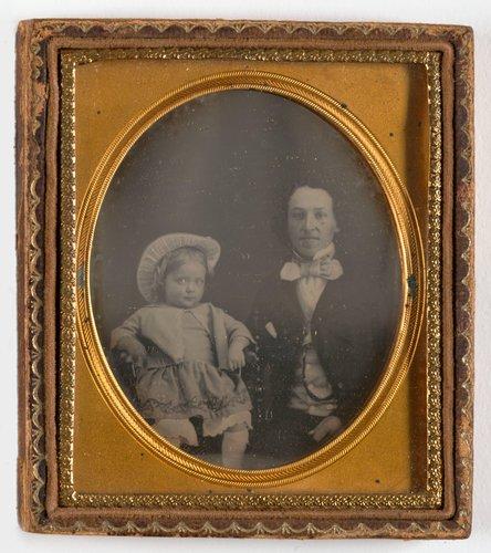 Untitled [Elizabeth Robison and her brother Charles Yates Robison]